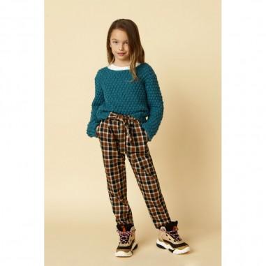 Dixie Kids Girls Teal Sweater - Dixie nb49230g26-1760-dixie30