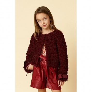 Dixie Kids Girls High Waist Red Shorts - Dixie rb05200g26-27-dixie30