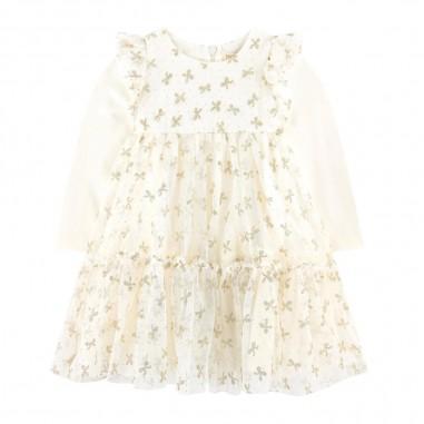Monnalisa Bowed Dress - Monnalisa 736902-monnalisa30