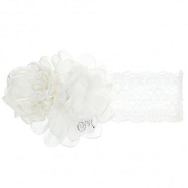 Monnalisa Lace Headband - Monnalisa 736008-monnalisa30
