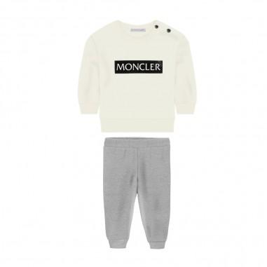 Moncler Completo Jogging 2 Pezzi Neonato - Moncler 8m72820-80996-034-moncler30