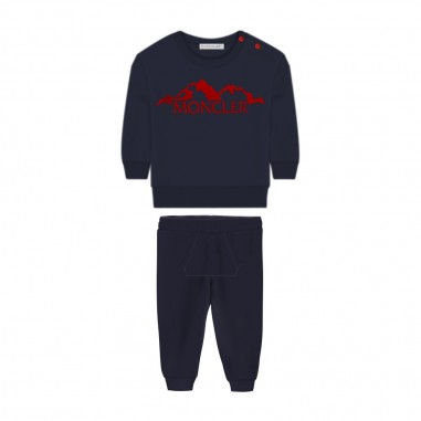 Moncler Completo Jogging Neonato - Moncler 8m72220-80996-778-moncler30
