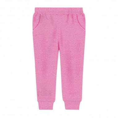 Monnalisa Cotton Jogging Trousers - Monnalisa 196411r5-monnalisa30