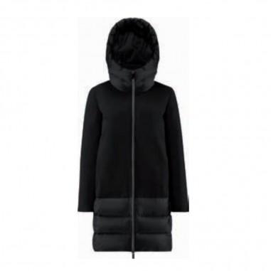 RRD Girls Black Winter Hybrid Parka - RRD 20957-rrd30