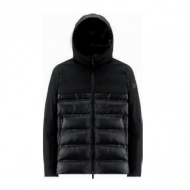 RRD Boys Black Winter Hybrid Jacket - RRD 20903-rrd30