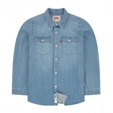 Levi's Camicia Jeans Bambino - Levi's lk8e6866-levis30