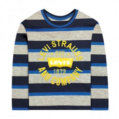 Levi's Long Sleeve Striped Tee - Levi's lk6ec225-levis30