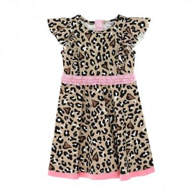 Monnalisa Animal Print Dress - Monnalisa 116925-monnalisa30