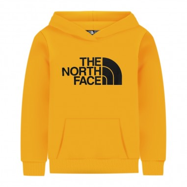 The North Face Kids Yellow Logo Sweatshirt - The North Face Kids nf0a33h456p1-56p1