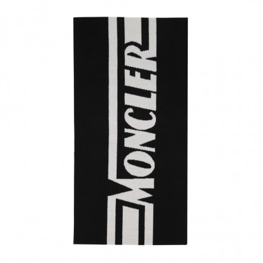 Moncler Black Scarf - Moncler 9z70520-a9366-999-moncler30