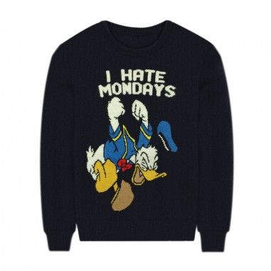 Mc2 Saint Barth Donald Duck Monday Sweater - Mc2 Saint Barth douglaslight-mondaydonald-mc230