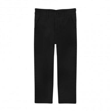Manuel Ritz Boys Black Chino Trousers - Manuel Ritz mr1140-manuelritz30