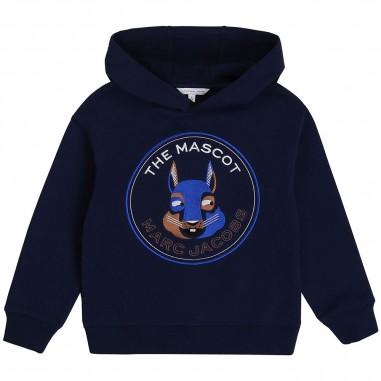 Little Marc Jacobs Hooded Sweatshirt - Little Marc Jacobs w25448-littlemarcjacobs30