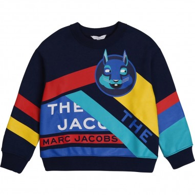 Little Marc Jacobs Blue Sweatshirt - Little Marc Jacobs w25457-littlemarcjacobs30