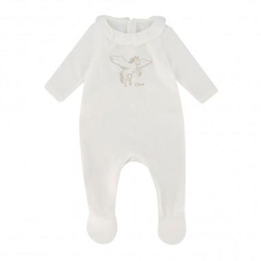 Chloé Kids White Pijama - Chloé Kids c97256-chloekids30