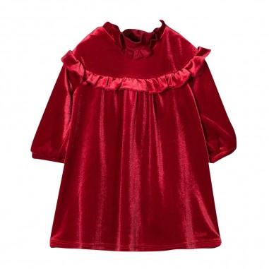 Chloé Kids Bordeaux Dress - Chloé Kids c02269-bordeaux-chloekids30
