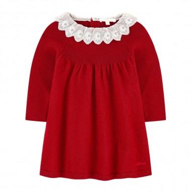 Chloé Kids Vestito Cremisi - Chloé Kids c02274-bordeaux-chloekids30