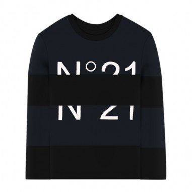 N.21 Kids Blue T-Shirt - N.21 Kids n214d7-n21kids30