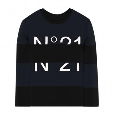 N.21 Kids T-Shirt Blu - N.21 Kids n214d7-n21kids30