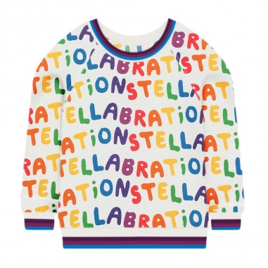 Stella McCartney Kids Felpa Logomania - Stella McCartney Kids 601084spj61-stellamccartneykids30