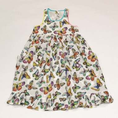 Stella McCartney Kids Butterflies Dress - Stella McCartney Kids 602775sqkc1-stellakids21