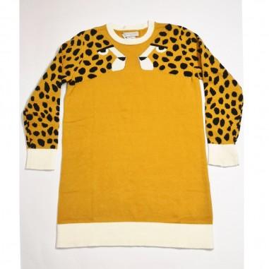 Stella McCartney Kids Cheetah Dress - Stella McCartney Kids 602622sqm03-stellakids21