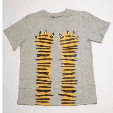 Stella McCartney Kids Cat T-Shirt - Stella McCartney Kids 602241sqj19-stellakids21