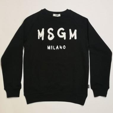 MSGM Black Sweatshirt - MSGM ms026831-nero-msgm21