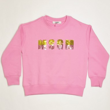 MSGM Pink Sweatshirt - MSGM ms026867-msgm21