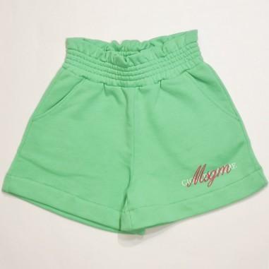 MSGM Green Short - MSGM ms026835-verde-msgm21