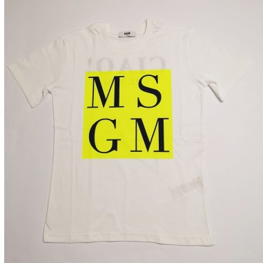MSGM T-Shirt Bianca - MSGM ms027590-msgm21