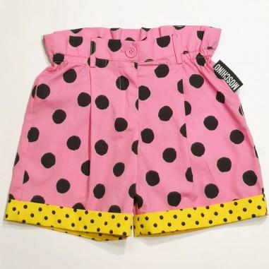 Moschino Kids Pink Shorts - Moschino Kids hdq00c-moschinokids21