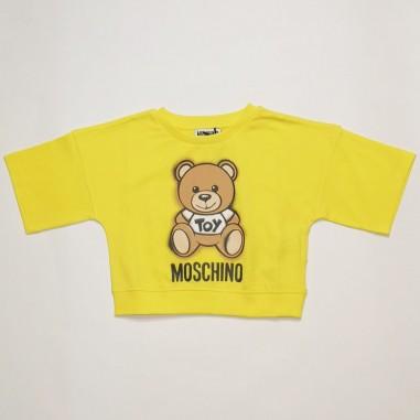 Moschino Kids Girls T-Shirt - Moschino Kids hdm03x-cyber-moschinokids21