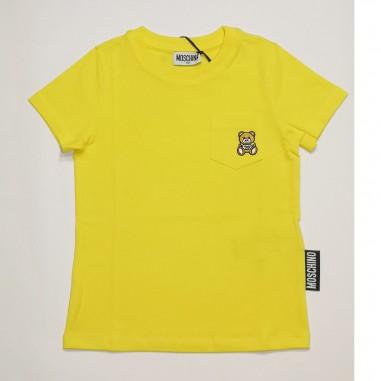 Moschino Kids Pocket T-Shirt - Moschino Kids hum02z-cyber-moschinokids21