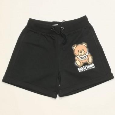 Moschino Kids Black Shorts - Moschino Kids hdq007-moschinokids21