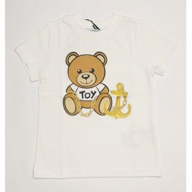 Moschino Kids T-Shirt Bianca - Moschino Kids hdm03p-moschinokids21