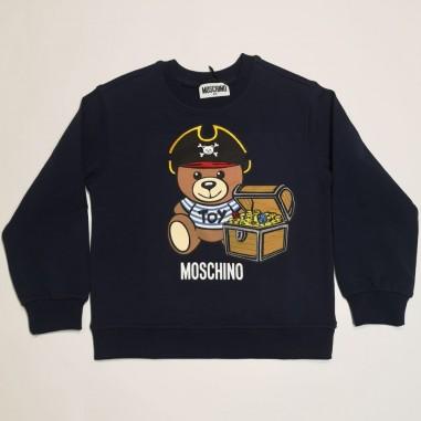Moschino Kids Blue Sweatshirt - Moschino Kids hnf043-moschinokids21