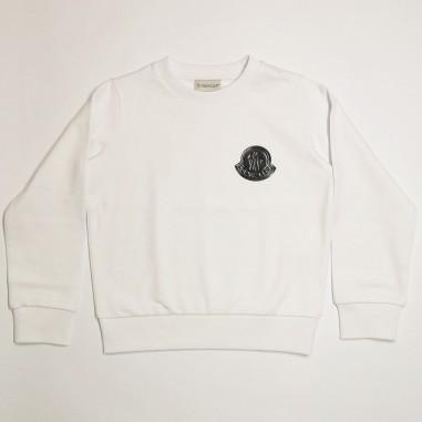 Moncler Logo Sweatshirt - Moncler 8g751-20-809ag-moncler21