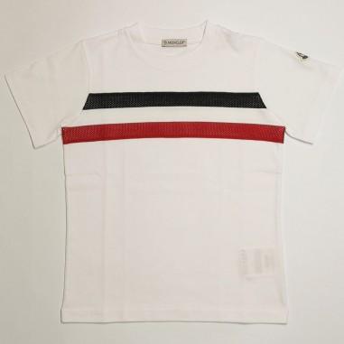 Moncler T-Shirt Bandiera - Moncler 8c743-20-83907-moncler21