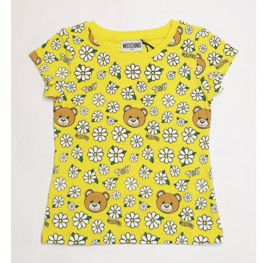 Moschino Kids Yellow T-Shirt - Moschino Kids hjm02o-moschinokids21