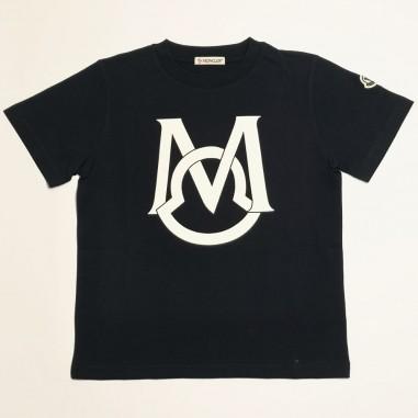 Moncler Logo T-Shirt - Moncler 8c742-20-83907-moncler21