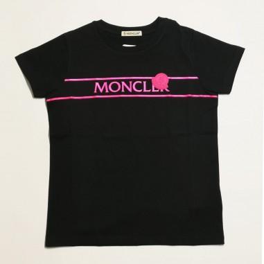 Moncler T-Shirt Logo - Moncler 8c744-10-83907-moncler21