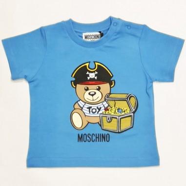 Moschino Kids T-Shirt Neonato - Moschino Kids mwm02a-moschinokids21