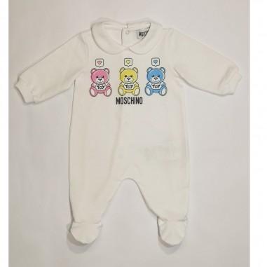 Moschino Kids Babysuit - Moschino Kids mnt01o-moschinokids21