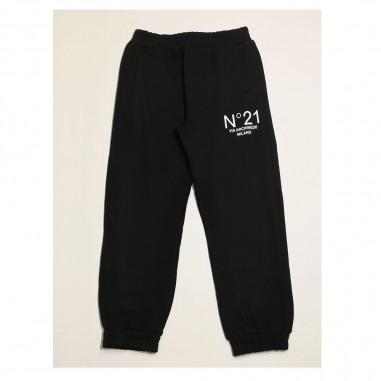 N.21 Kids Black Jogger - N.21 Kids n21015-n21kids21
