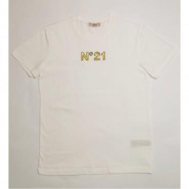 N.21 Kids T-Shirt Bianca - N.21 Kids n21089-n21kids21
