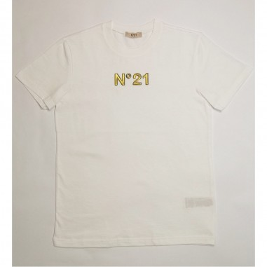 N.21 Kids White T-Shirt - N.21 Kids n21089-n21kids21