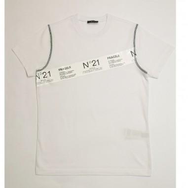N.21 Kids T-Shirt Bianca - N.21 Kids n21029-n21kids21