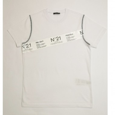 N.21 Kids White T-Shirt - N.21 Kids n21029-n21kids21