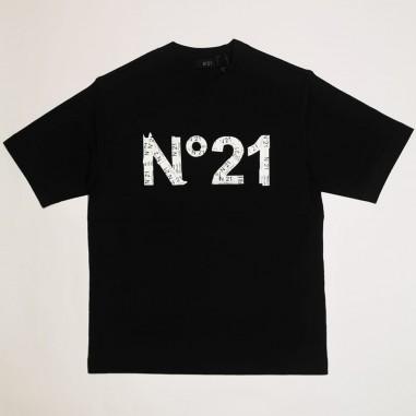 N.21 Kids T-Shirt Logo - N.21 Kids n21034-n21kids21